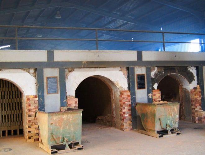 Instalaciones hornos de cerámica