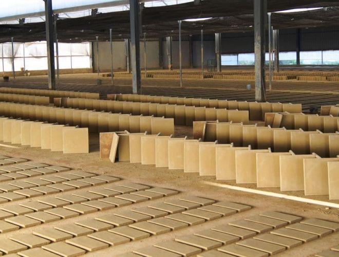 Instalaciones Naves de secado de piezas de arcilla