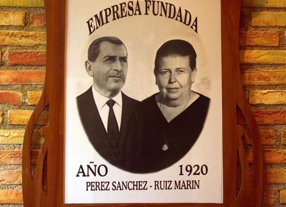 Historia Sebastián Pérez Fundadores