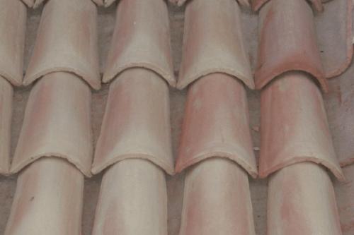 Tejas detalle tejado teja arabe