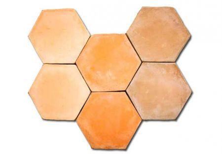 Tipos Baldosas Hexagonal